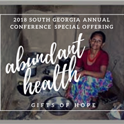 Annual Conference Special Offering to benefit South Georgia, U.S., global health initiatives