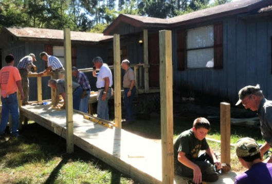 Local ministry builds wheelchair ramps for those in need