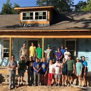 Vineville UMC helps strengthen community, build neighbor's home