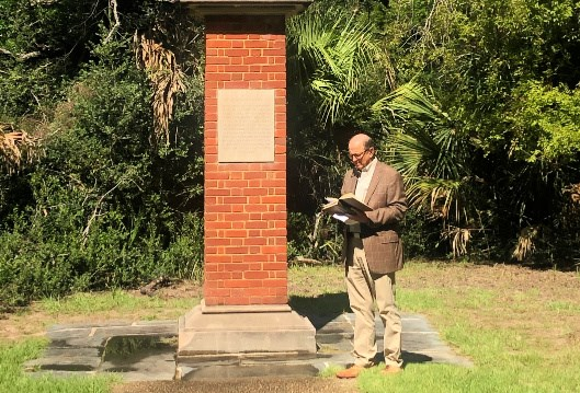 Bishop Bryan: Reflections at the Wesley Monument at Fort Pulaski