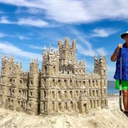 The spirituality of sandcastles