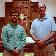 Father and son serve downtown Brunswick church
